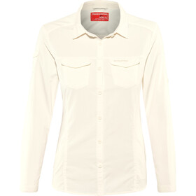Craghoppers NosiLife Adventure II Longsleeve Shirt Dames, sea salt